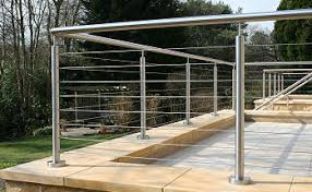 Wire Banister Stainless Steel Handrail Railing And Balustrade Systems