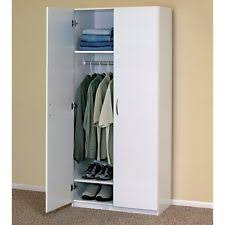 Wardrobe Cabinet With Shelves Armoires U0026 Wardrobes Ebay