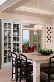 contemporary china cabinet kitchen contemporary with black counter