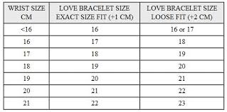 wrist bracelet size images How to make sure the size of replica cartier juste un clou nail jpg