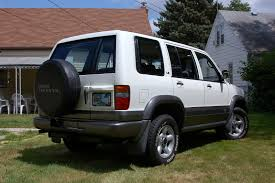 1995 isuzu trooper information and photos zombiedrive