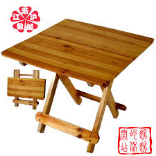 Small Portable Folding Table Small Wood Table Interiors Design