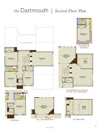 dartmouth home plan by gehan homes in waters edge