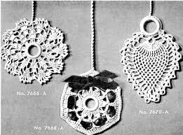 crochet ornament pattern archives vintage crafts and more