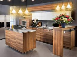 cuisine moderne bois massif enchanteur cuisine moderne bois et cuisine moderne bois et blanc