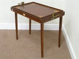 butler table with tray edwardian osterley table tray mahogany butler s folding table with