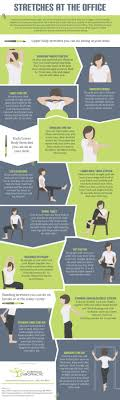 Office Exercises At Your Desk 12 Stretch Exercises You Can Do At Your Desk Infographic Not