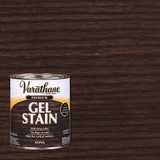 what is the best gel stain for kitchen cabinets varathane 1 qt kona wood interior gel stain 349701 the home depot