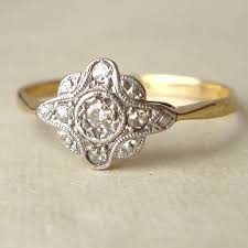 antique engagement ring settings jewelry rings incredible art deco engagement ring image