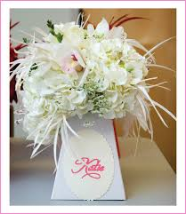 Wedding Flowers Delivery White Wedding Bouquet Delivery Vase For An Easy Yet Elegant