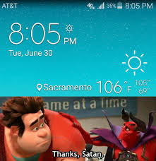it s hot as hell out here wreck it ralph know your meme