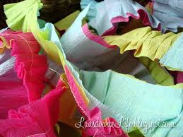 ruffled streamers how to ruffled crepe paper party streamers lansdowne