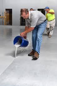 installing epoxy moisture mitigator spartacote concrete coatings