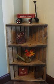 Wooden Crate Shelf Diy by Best 25 Crates On Wall Ideas On Pinterest Nautical Theme