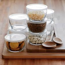 glass food storage bowls with bpa free lids kitchen islands