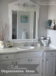 Small Bathroom Organization by Bathroom Organization Ideas Clean And Scentsible