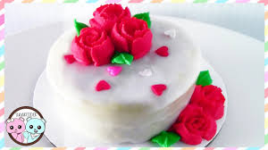 russian piping tips rose cake valentine u0027s day cake sugarcoder