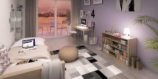 chambre etudiante résidence newton immobilier neuf à toulouse borderouge lp promotion