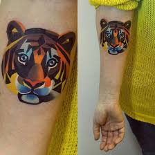 awesome geometric 120 eye catching tiger designs