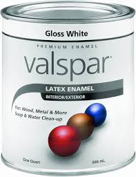 amazon com valspar 65000 premium interior exterior latex enamel