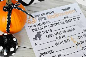 Cool Halloween Party Ideas For Kids by Halloween Games For Kids Madlibs Fun