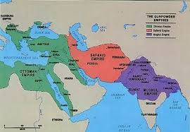 What Was The Ottoman Empire This Map Shows The Ottoman Empire Safavid Empire And Mughal