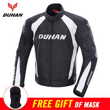 gsxr riding jacket duhan autumn winter motorcycle jacket men protective gear moto