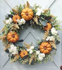 decorative wreaths for the home gorgeous fall wreaths that will bring harvest season into your