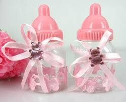 girl baby shower favors wholesale pink girl baby shower favors bottle baptism for wedding