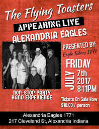 The Flying Toasters Band Eagle Riders 1771 Alexandria In Home Facebook