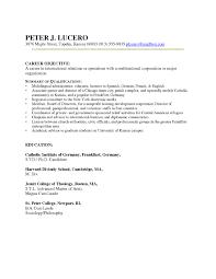 sample resume without objective sioncoltd com resume sample letter best solutions of sample career change resumes about description