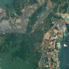 map batam batam satellite map map of batam indonesia