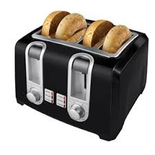 Toaster With Clear Sides Black Decker 4 Slice Toaster T4569b Black Decker