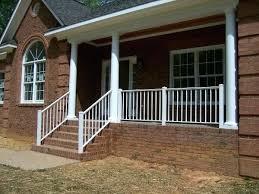 metal deck railing kits decorative wrought iron porch railing iron