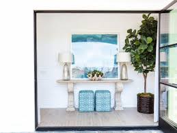 White Foyer Table Foyer Decorating And Design Idea Pictures Hgtv