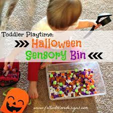 thanksgiving sensory bin toddler playtime halloween sensory bin felt with love designs