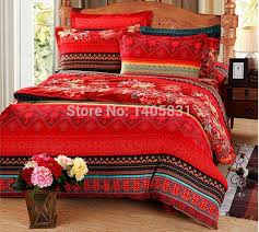 Rust Comforter Red King Size Bedspread French Tile King Quilt King Size Quilt Set