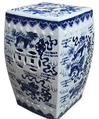 7 beautiful blue garden stools for your outdoor area cute furniture
