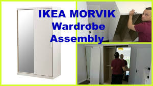 ikea morvik wardrobe youtube