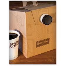 Box Coffee peet s to go peet s coffee tea