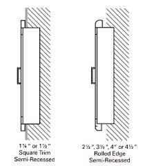semi recessed fire extinguisher cabinet elegant semi recessed fire extinguisher cabinet t56 about remodel