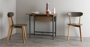 Gateleg Dining Table And Chairs Gateleg Dining Tables Pherson Gateleg Dining Table Oak And Grey