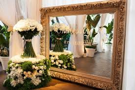wedding flowers for tables wedding with lush ivory flowers gold
