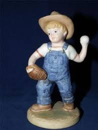 home interior denim days figurines denim days i santa 8951 home interiors w tag vg exc free