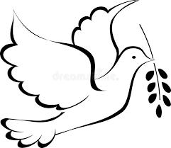 peace dove stock vector image 41531949