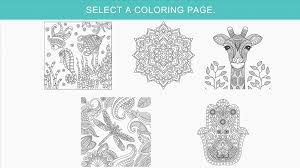 Turn Pictures Into Coloring Pages App Zen Coloring Book For Adults Android Apps On Google Play