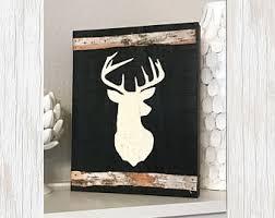 deer decor etsy