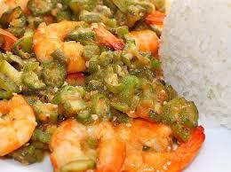 cuisiner des gombos colin et crevettes au gombo et riz parfumé par damy une