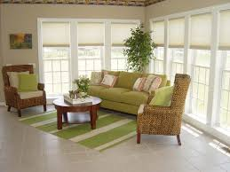indoor rattan sofa furniture indoor furniture for sunrooms with floral upholstery