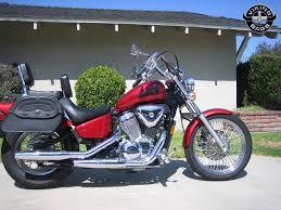 honda 600 shadow vlx motorcycle saddlebags l warrior from vikingbags